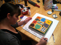 Clue (The Board Game) Birthday Cake!