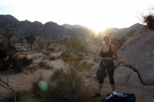 Climbing in Joshua Tree & The Integratron