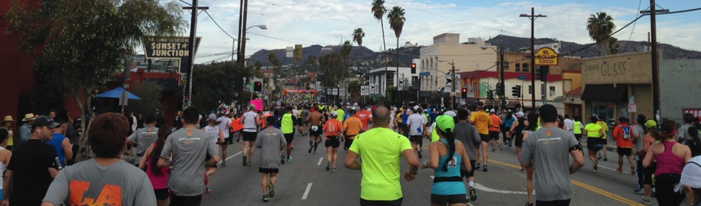 2014 LA Marathon Cover Photo
