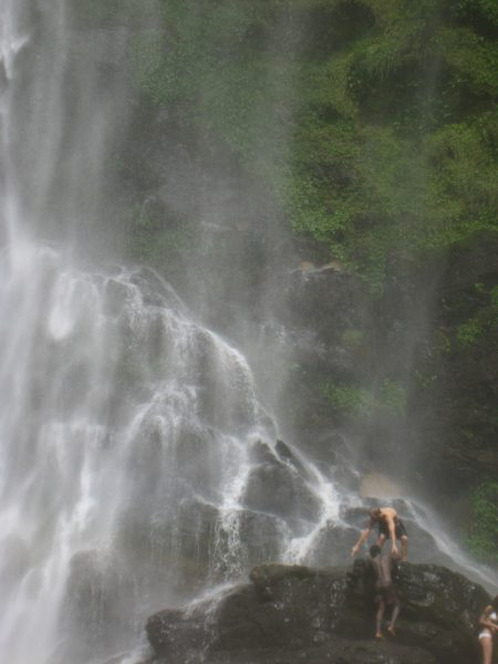 Wli falls, highest waterfall in West Africa