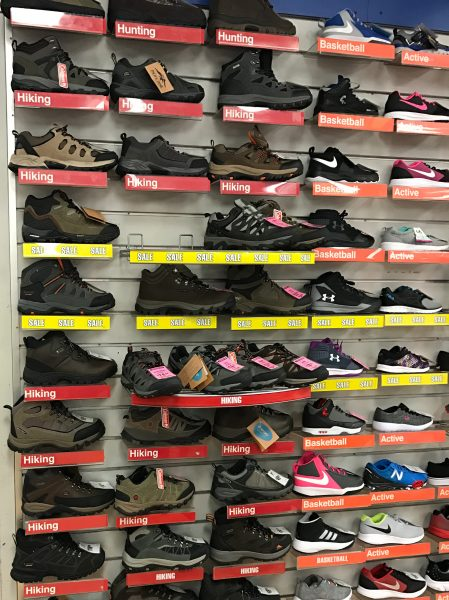 Last-minute boot shopping at Big 5