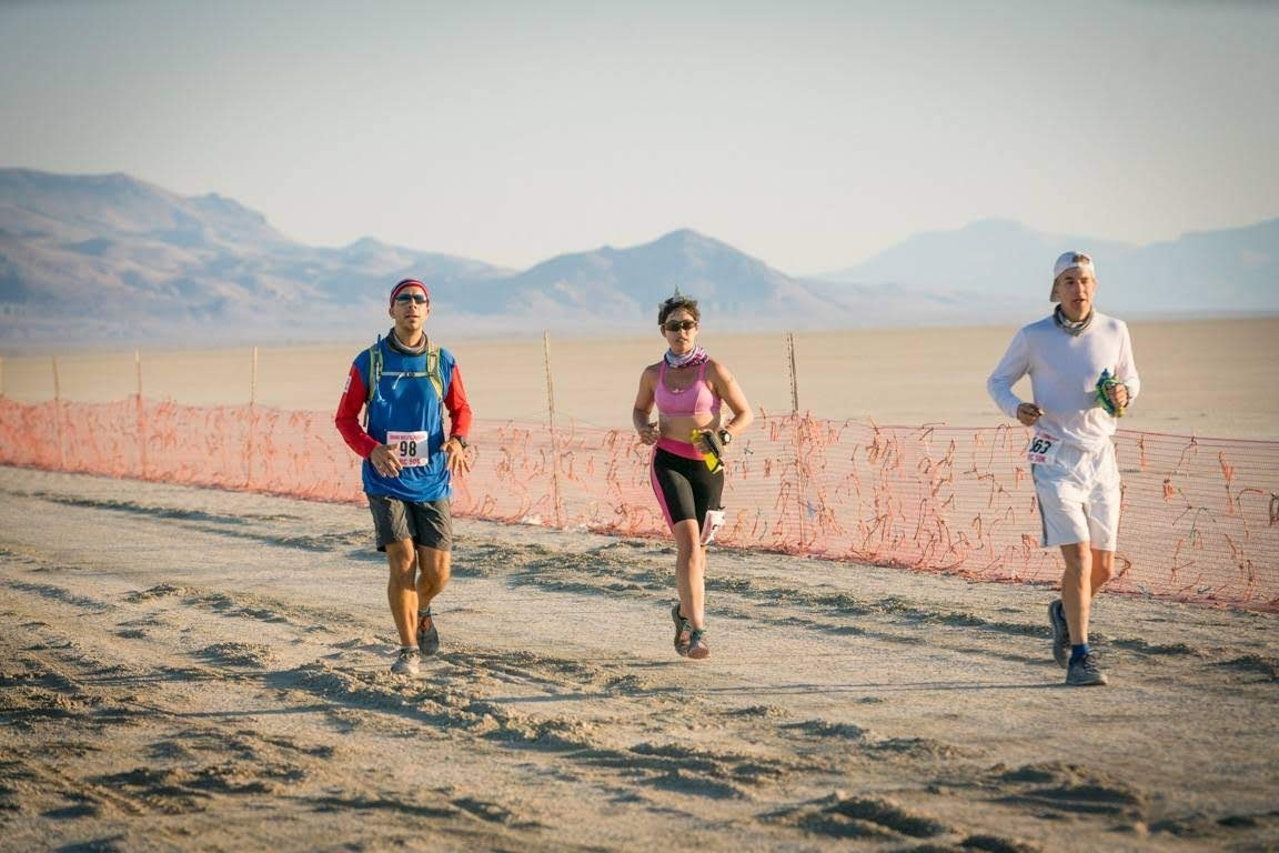 Burning Man 50k in deep playa