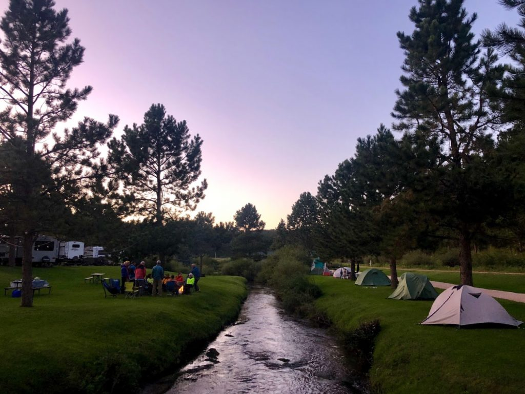 Larsson's Crooked Creek Resort in Hill City, SD